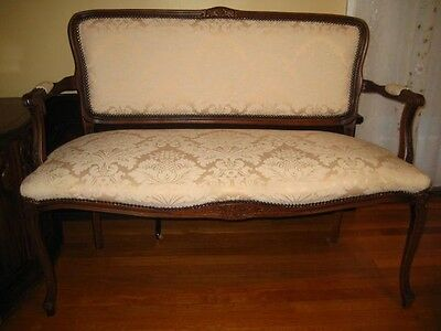 Antique Queen Anne style sofa