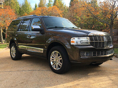 2008 Lincoln Navigator  low mile free shipping warranty 1 owner clean carfax 4x4 luxury loaded cheap