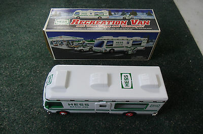 1998 Hess Truck Recreation Van With Dune Buggy and Motorcycle Mint in Box New