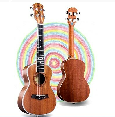 23 inches Wood Color 4 String Beginners Preferred Musical Instrument Ukulele