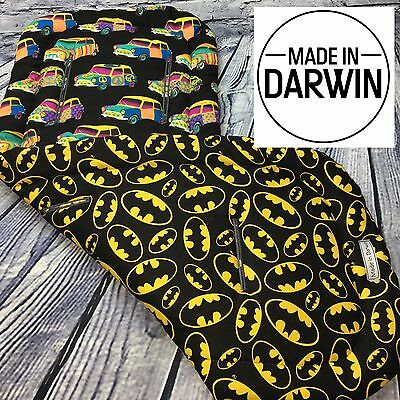 Batman boys Universal Reversible Pram Liner By Made In Darwin