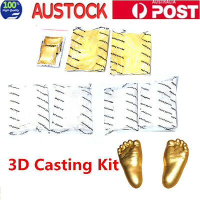 3D Baby Hand & Foot Print Casting Kit Moulding & Casting Powder Set