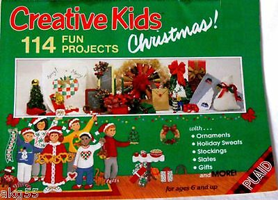 Creative Kids Christmas 114 Fun Projects from PLAID Pattern & Project Leaflet