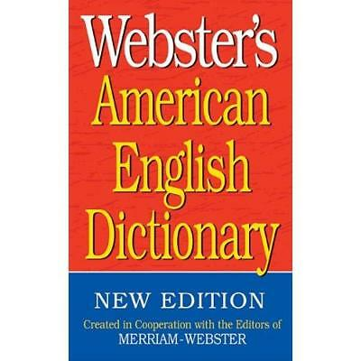 FREE 2 DAY SHIPPING: Webster's American English Dictionary (Paperback)