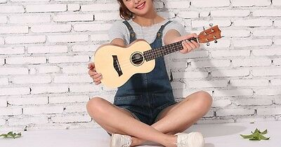 21 inches Wood Color 4 String Profession Musical Instrument Ukulele #