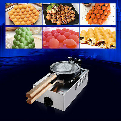 Stainless Steel Gas Cake Oven QQ Egg Bread Yes Waffle Maker Y2R3 Baking Machine