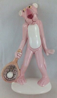 Pink Panther Royal Orleans Ceramic Figurine - Tennis