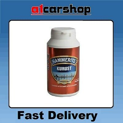 Large Hammerite Kurust Rust Remover Convertor Killer neutraliser Kills dead