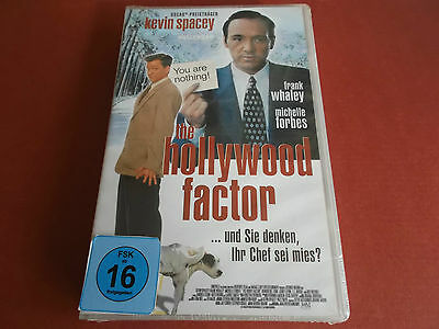 The Hollywood Factor - Fsk 16 Vhs Video - Neu - Kevin Spacey