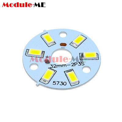 10Pcs 3W 5730 SMD Positive Pure White LED Emitting Diode Panel Board Fixtures MO