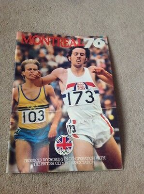 Montreal 76 Produced by Cadbury in Co-operation with British Olympic Association