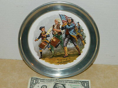 The Spirit of 76 American Bicentennial Collection 1776-1976 Commemorative Plate