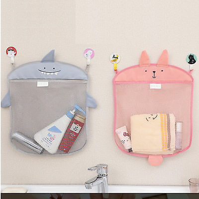 Baby Kids Bath Toy Holder Storage Net Organiser Hanging Bathroom Shower Mesh