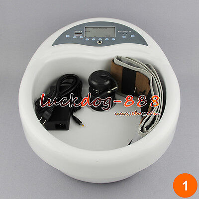 Pro Detox Foot Bath Spa Ion Cell Cleanse Spa Tub Acupuncture 5 Health Modes