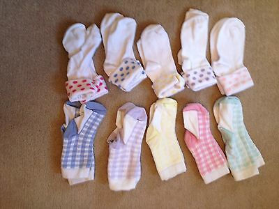Toddler Girls Socks Clothes Bundle Size 6-8.5 By Next