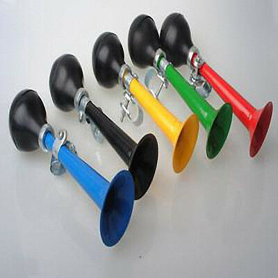 Bicycle Bike Air Horn Retro Hooter Horn Cycle Squeeze Rubber Bulb