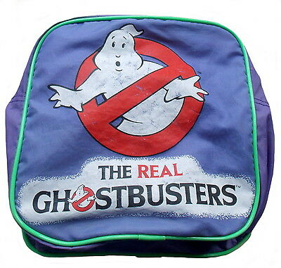 "1986 THE REAL GHOSTBUSTERS -- SLUMBER MATE -- 20"" L x 9"" H x 9"" W -- DUFFEL BAG"