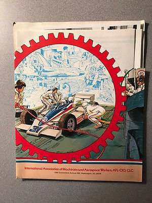 Roger Mears - Machinists Union Racing / Race Team Indy Car CART 1980's Press Kit