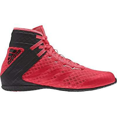 Adidas Speedex 16.1 Boxing Boots - Black Red Mens Ladies Trainers Shoes