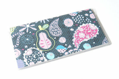 Summer Paisley Checkbook Cover