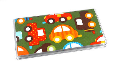 Toy Cars Checkbook Cover
