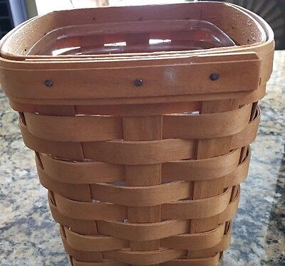 Longaberger NEW 1998 Small Spoon Classic Basket Tradition Handwoven