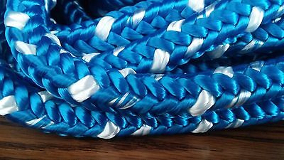 """1/2"""" x 100 ft. Single Strand Polyester Rope. Anchor/Utility. US Made."""