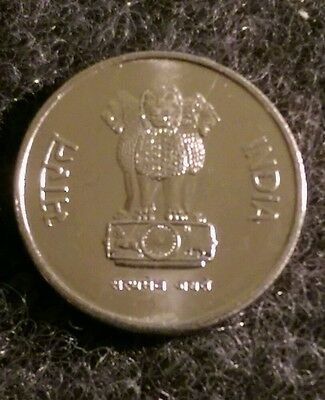 "10 Paise coin , India. . ""C"" Very Fine to Uncirculated. Clean, Shinny. Beauty."