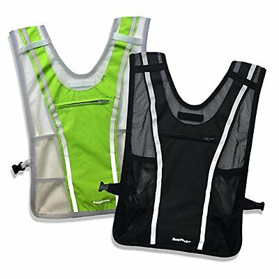 Roadnoise Long Haul Vest Running and Cycling Vest with speakers. Safer running