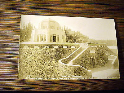 100. RPPC Vista House, Crown Point, Columbia River Highway, OR