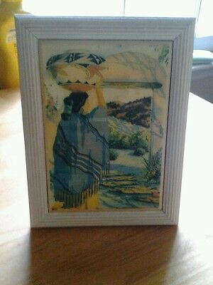 American Indian Art  (Picture Framed)