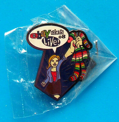 2008 Chicago Ebay Live -- BETTY BUYER -- HEROES PIN minty