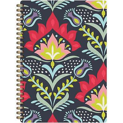 Botanical Composition Spiral-Bound Notebook 7 Inch X 9.5 Inch-Colo 061152606823