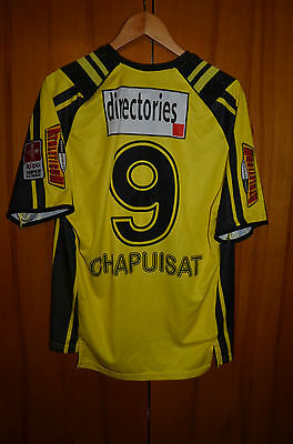Bsc Young Boys Switzerland Match Issue No Worn Football Shirt Jersey Chapuisat