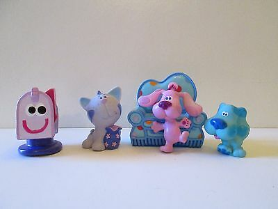 Blue's Clues Playhouse sofa couch Periwinkle mailbox Magenta figures Nice!