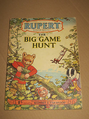 RUPERT Adventure series N° 5   A DAILY EXPRESS
