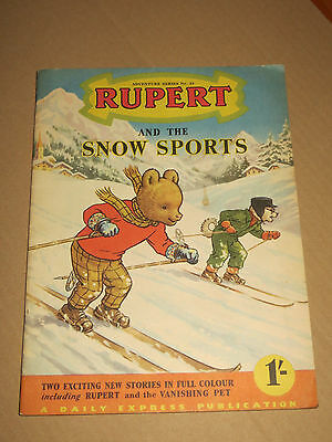 RUPERT Adventure series N° 23   A DAILY EXPRESS