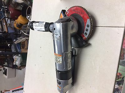 """Blue Point 4-1/2"""" Right Angle Pneumatic Grinder / Sander P/n At415A"""