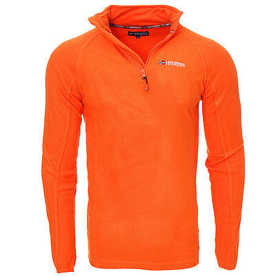 Pulls Polaire  Homme Geographical Norway Pulls Camionnieur Sport Orange T: S.m.l