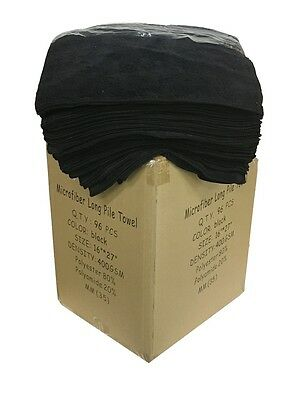 "96 Case of Microfiber 400GSM Professional 16""x27"" Salon Towels"