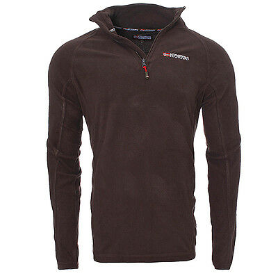 Pulls Polaire  Homme Geographical Norway Pulls Camionnieur Sport Marron T: M.xl