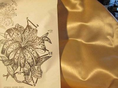 Tri-Chem Tiger Lily Satin Pillow Cover #2557-26- 14.5 Inches Square-To Paint/Emb