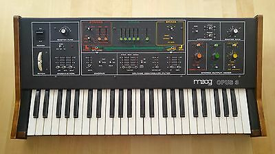 Gorgeous Moog Opus 3 - completely restored and ready to go!