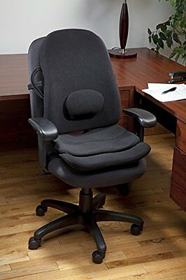 Obus Forme Ergonomic Orthopedic Combo Low Back Backrest and Contoured Seat Helps