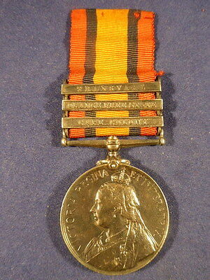 Boer War Queens South Africa Medal3 Clasp- Pt. G Dowding Grenadier Guards +Docs
