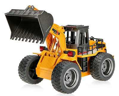 New RC Bulldozer Engineering Vehicle 6CH 2.4Ghz Truck Toy Children Construction