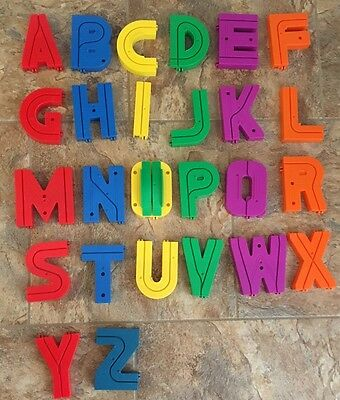 Vintage Playskool Alphabet Roadway Sesame Street 1989 Letters Track Replacement