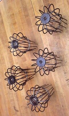 Lot 5 Wire Gutter Downspout Guard Steampunk Light Cage