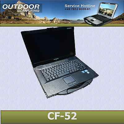 Panasonic Toughbook CF-52 2,6 GHz i5 VOLLAUSSTATTUNG inkl. Dockingstation