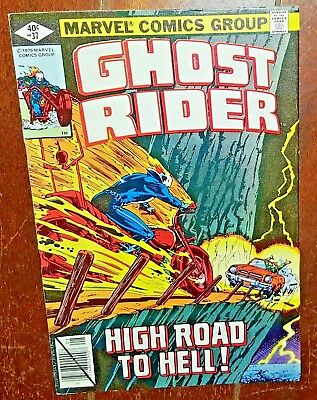 Ghost Rider #37 (1979, Marvel) Night of the Flame Cycles!